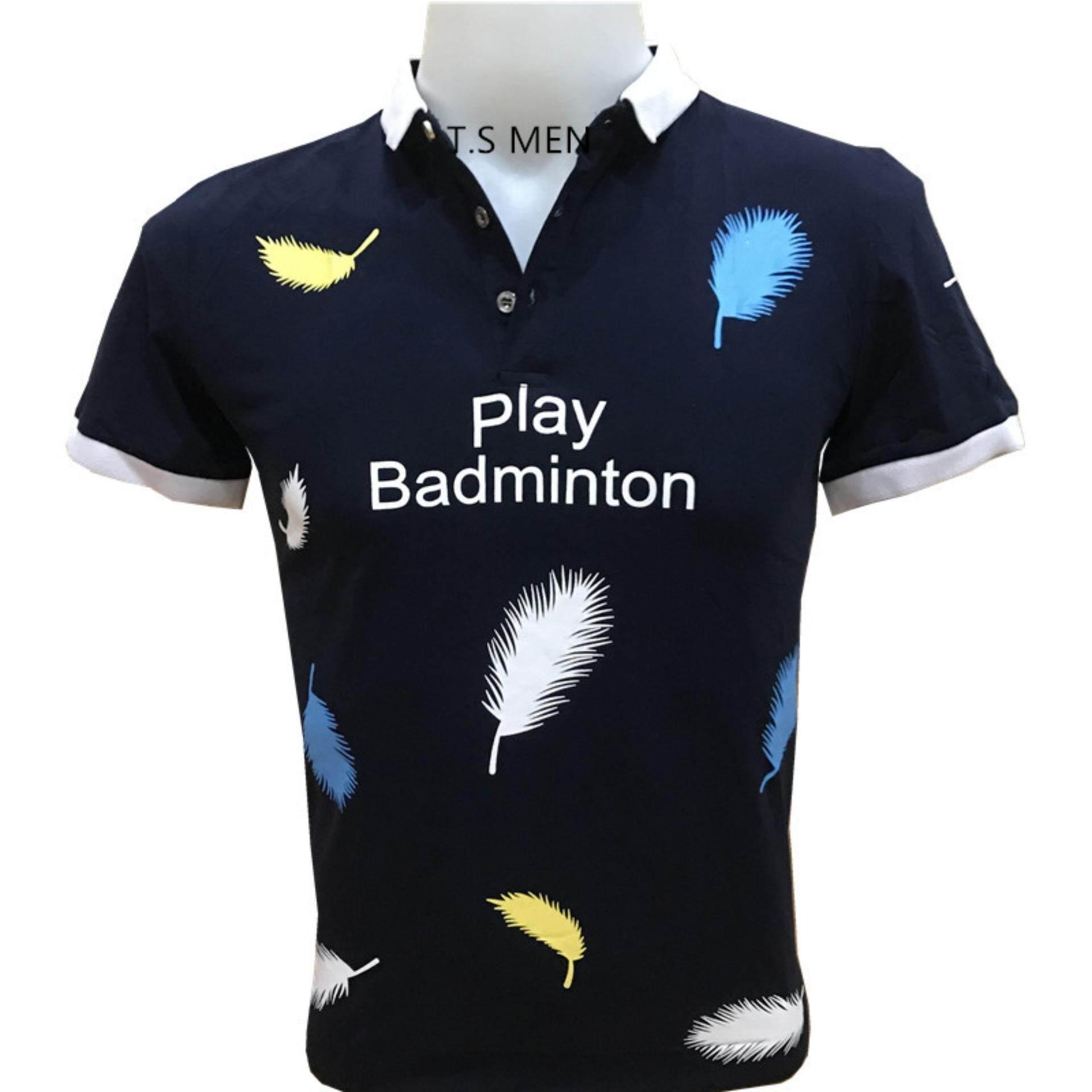 ส่วนลด เสื้อยืดผู้ชายMen S T Shirtเสื้อยืดแฟชั่นผู้ชาย Polo Shirtเสื้อโปโล กรุงเทพมหานคร