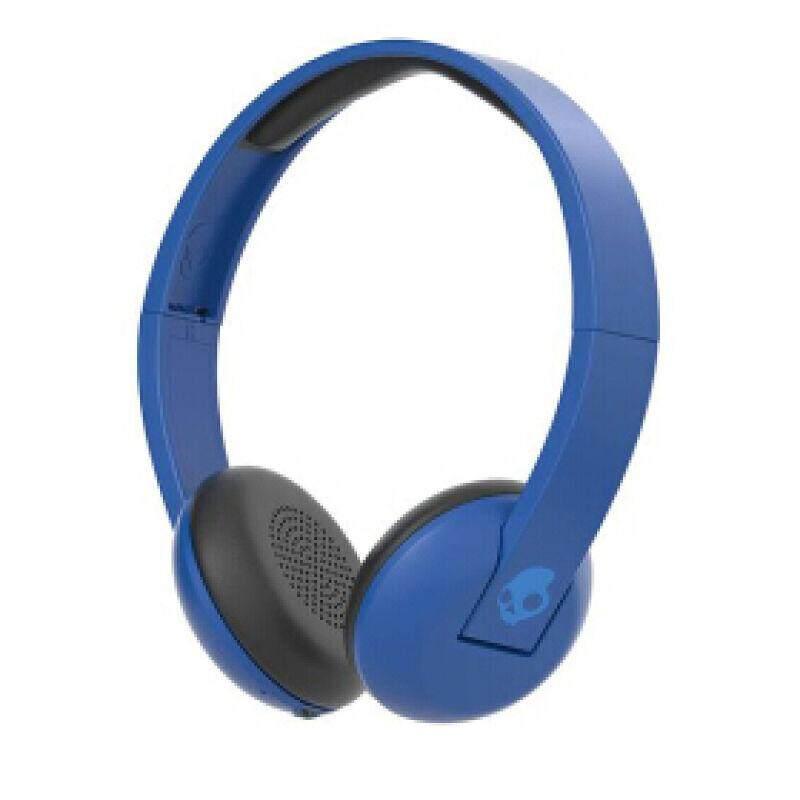 ขายดีมาก! [Wevery]- SKULLCANDY UPROAR WIRELESS ON-EAR ROYAL/CREAM/BLUE หูฟังไร้สาย wireless headphones หูฟัง wireless หูฟังครอบหู หูฟังแบบครอบหู ส่ง Kerry เก็บปลายทางได้