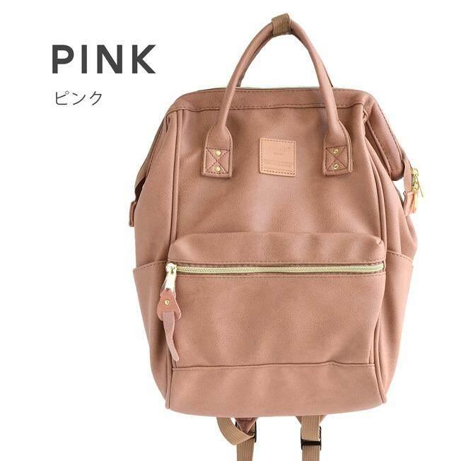 การใช้งาน  นครพนม กระเป๋าเป้ Anello Pu Backpack Rucksack Mini - Japan Imported 100%
