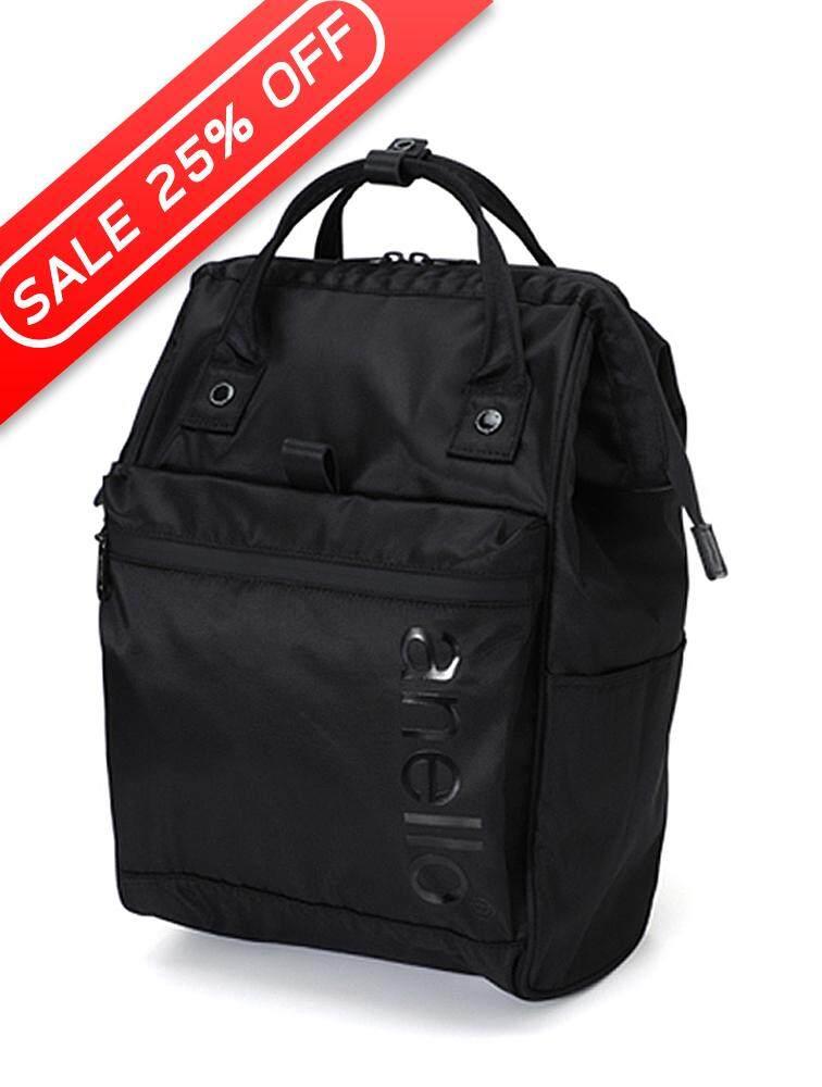 ยี่ห้อนี้ดีไหม  สุรินทร์ ANELLO กระเป๋าเป้ REG Limited Model Repellency Mouthpiece รุ่น FSO-B001_BK ขนาด Regular สีดำ