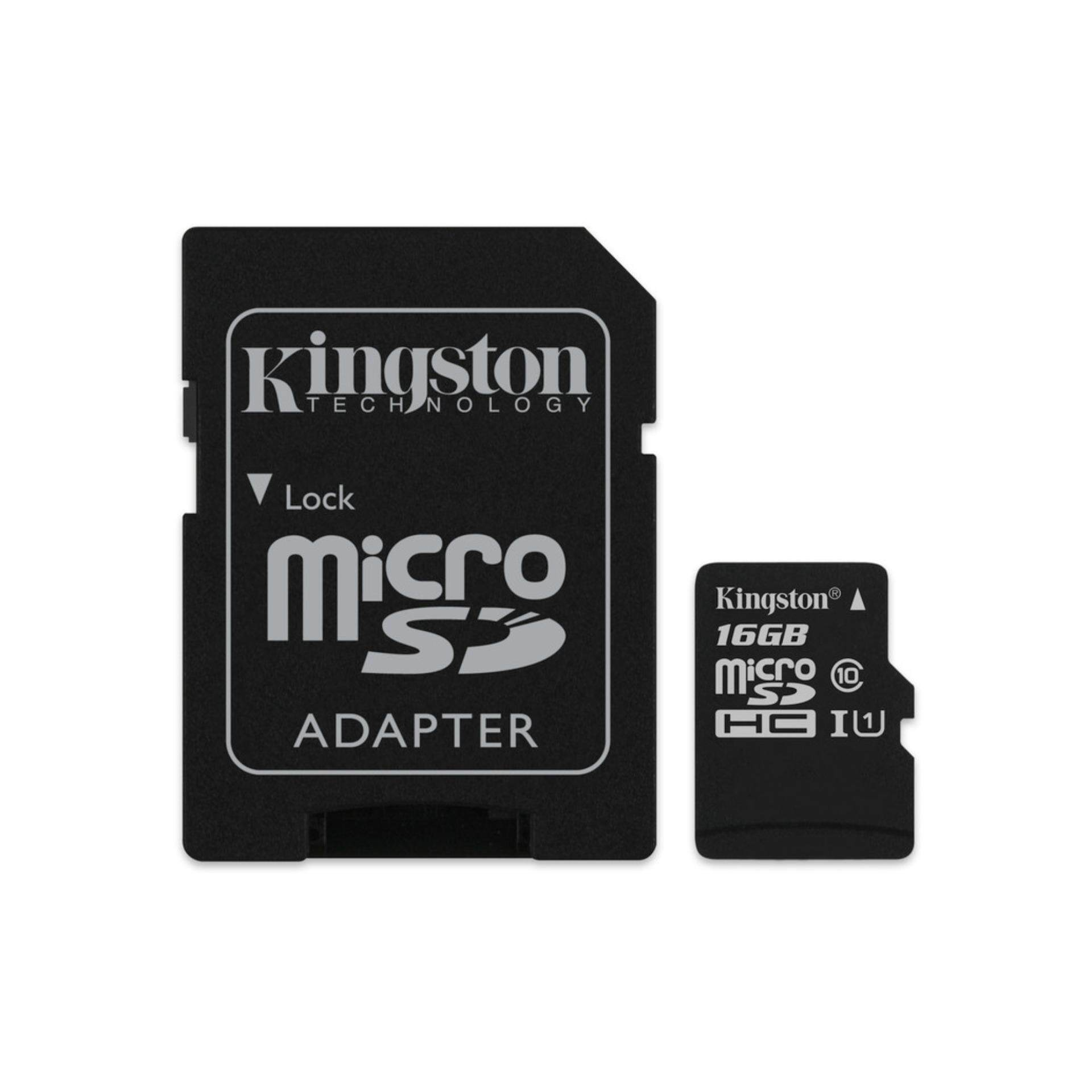 Kingston Microsdhc Canvas Select 80r Cl10 Uhs-I Card + Sd Adapter(compatible, Non-Proprietary) By Lazada Retail Electronics.