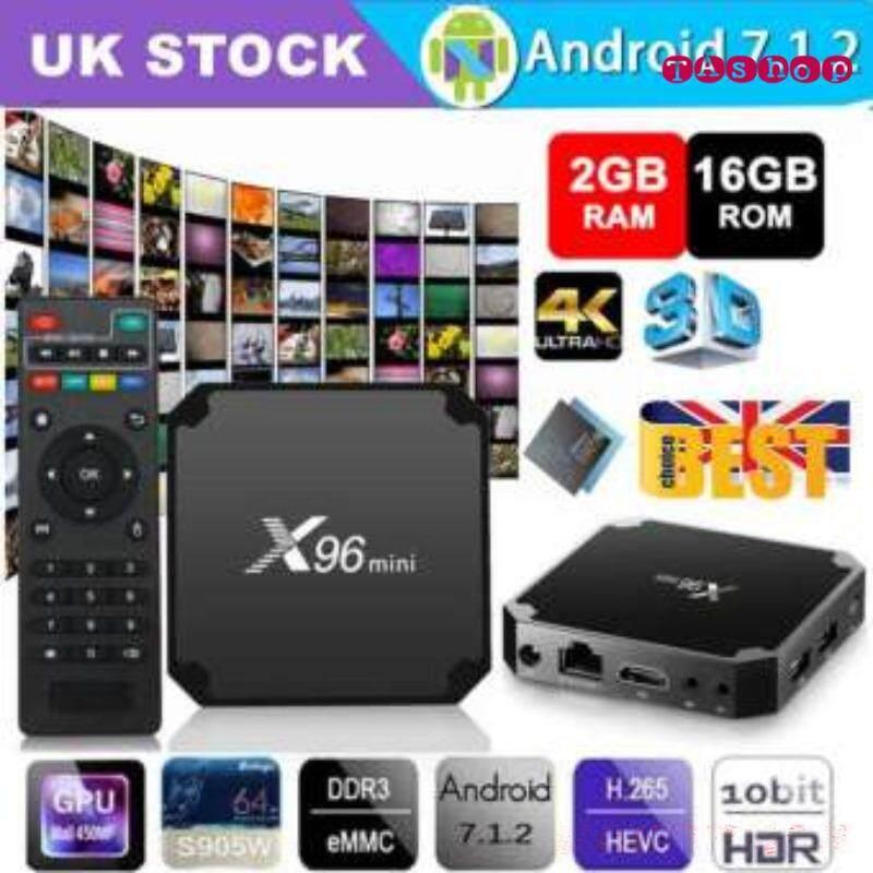 ทำบัตรเครดิตออนไลน์  ชัยนาท กล่องแอนดรอยด์ทีวี Android 7.1.2 BOX สมาร์ททีวี แอนดรอยด์ทีวี ดิจิตอลแอนดรอยด์ทีวี แอนดรอยด์บ็อกซ์ Android TV Box Smart TV Box รุ่น X96 mini S905W 4K Ram 2 GB  |  Rom 16 GB