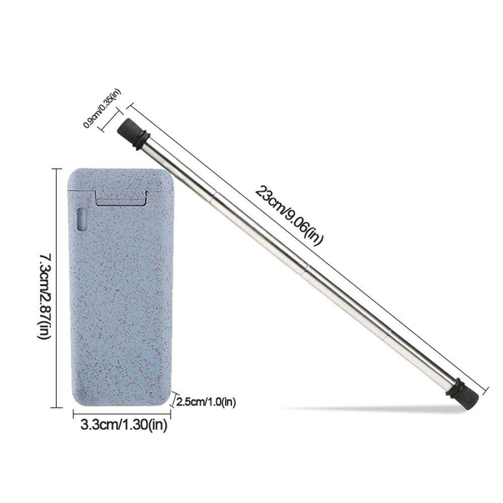 OrzBuy [ECO-PRODUCT STRAWS] Collapsible Straw Portable
