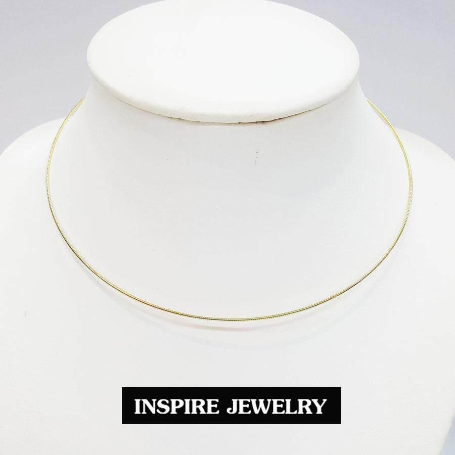 ราคา Inspire Jewelry โชคเกอร์คอ มีให้เลือกหลายแบบ ทั้งกลม และสปริง สีเงิน สีทอง 2 กษัติรย์ 3กษัติรย์ ตัดลาย ขัดมัน ฯ เป็นต้นฉบับ Inspire Jewelry