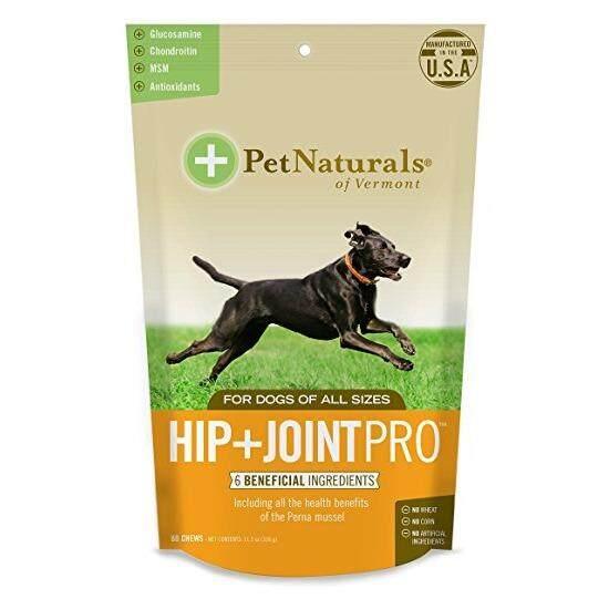 เก็บเงินปลายทางได้ Pet Naturals Hip+Joint Pro Dog (60 Chews) รักษาและป้องกันข้อเสื่อม ข้อหลุดหลวม เดินขากระเผก เสริมน้ำในข้อสุนัข (EXP: 06/2020) +ส่ง KERRY+