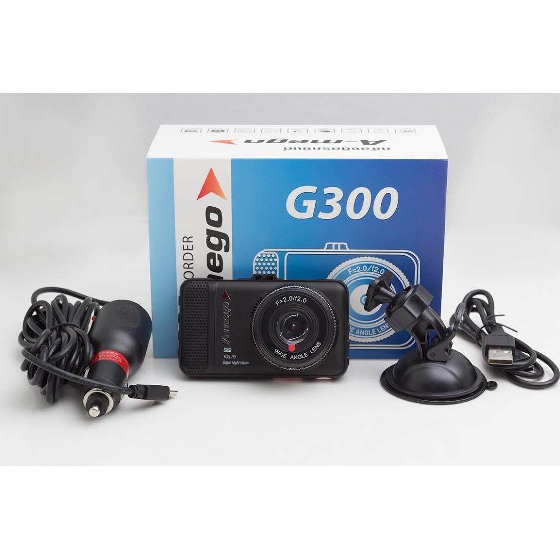 ซื้อ กล้องติดรถยนต์ A Mego G300 แถมฟรี Memory Kingston Micro Sd Card Class 10 16Gb A Mego เป็นต้นฉบับ