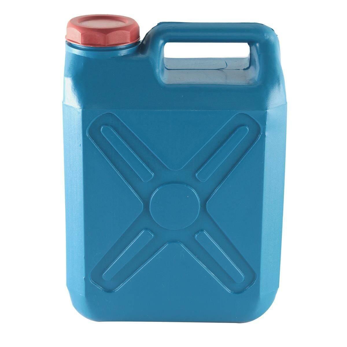 Bn&p Shop ถังใส่น้ำมัน ถังแกลลอนพลาสติก สีฟ้า.