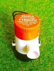 ปั๊มน้ำโซล่าเซลล์แบบแช่ 12 โวลต์ 1100-GPH ( สินค้าขายดี )