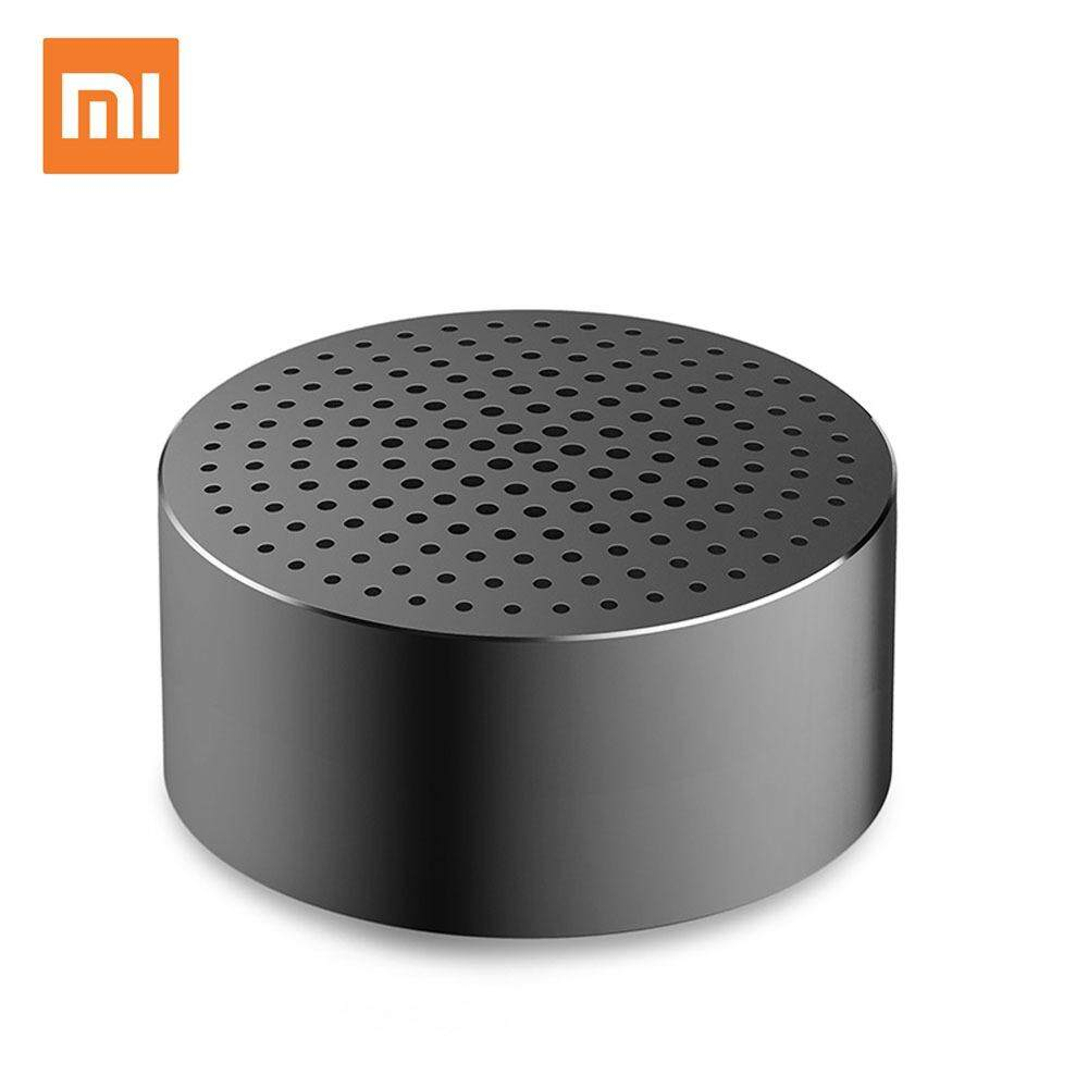 ยี่ห้อนี้ดีไหม  ภูเก็ต Original Xiaomi Pocket Bluetooth Speakers Portable Wireless Mini Stereo Metal Body Subwoofer Audio Receiver With Built-in Mic
