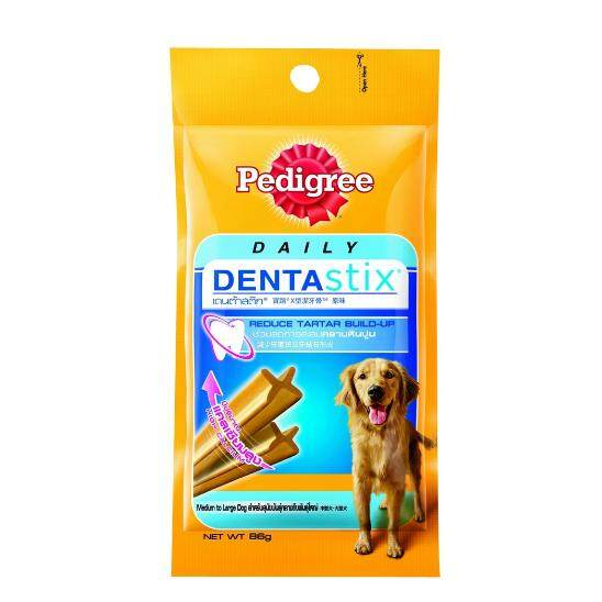 Pedigree® เพดดิกรี เดนต้าสติก 86 กรัม สำหรับสุนัขโต.