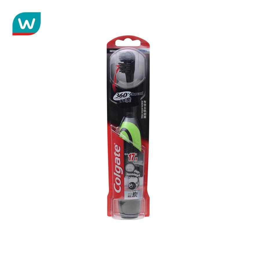 แปรงสีฟันไฟฟ้า ทำความสะอาดทุกซี่ฟันอย่างหมดจด เชียงราย คอลเกตแปรงสีฟันไฟฟ้า 360 องศา ชาร์โคล