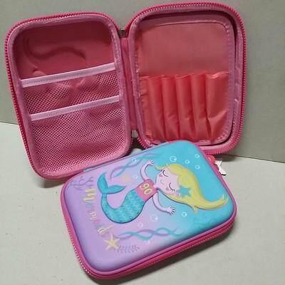 เก็บเงินปลายทางได้ ส่งฟรี kerry!!! ขาย กล่องดินสอสมิกเกิ้ล EVA กระเป๋าดินสอ กล่องดินสอ smiggle hardtop pencil case 3d 3ดี ลาย นางเงือก