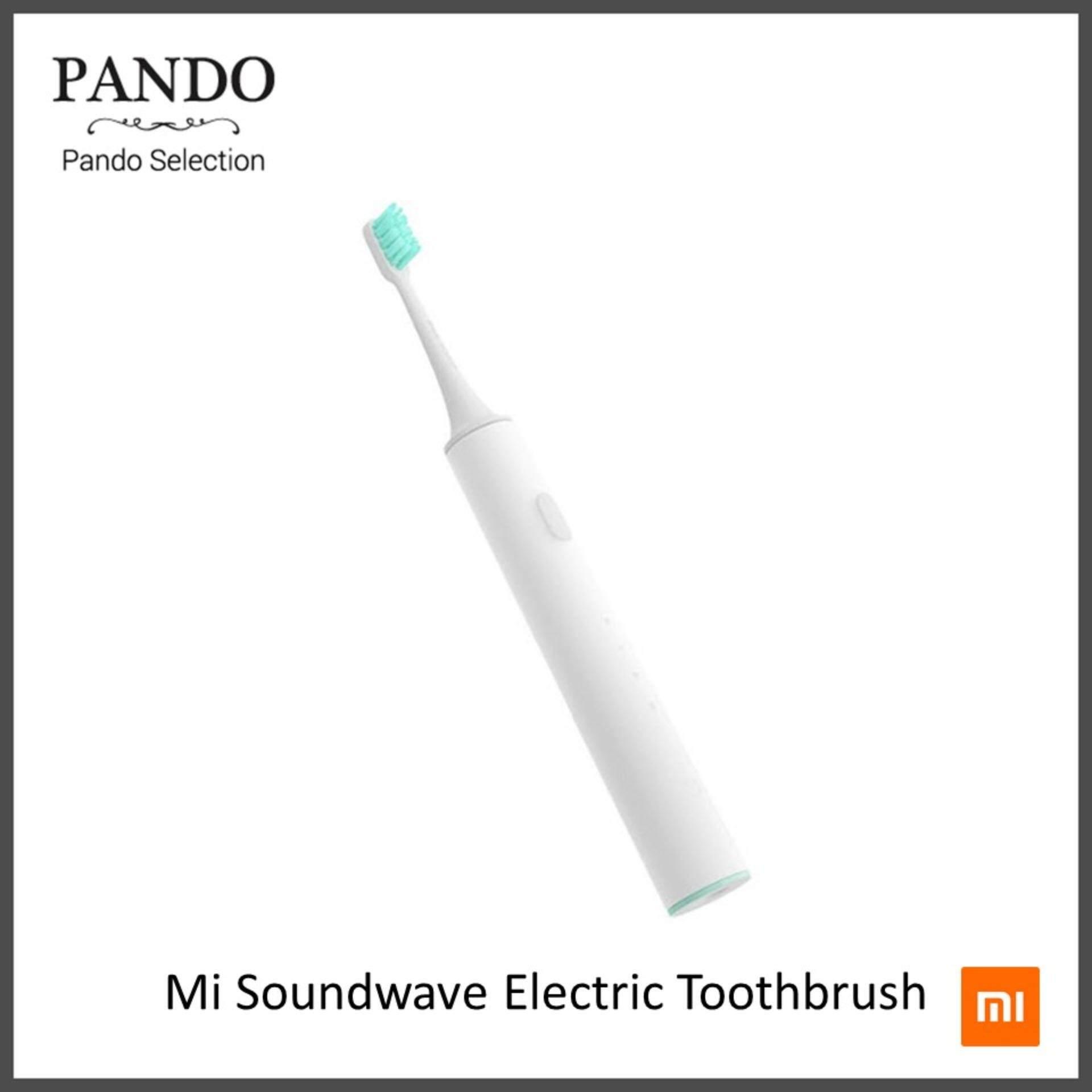 แปรงสีฟันไฟฟ้าเพื่อรอยยิ้มขาวสดใส บุรีรัมย์ Xiaomi Soundwave Electric Toothbrush แปรงสีฟันไฟฟ้า ของแท้จาก Xiaomi รับประกัน 1 ปี by Pando Selection   Fanslink