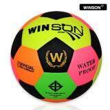 ยี่ห้อนี้ดีไหม  พัทลุง Oliver Bazaar ลูกบอล ลูกฟุตบอล ฟุตบอล Football Winson japan เบอร์ 5 ลูกฟุตบอลหนังอัด สีสันสดใส