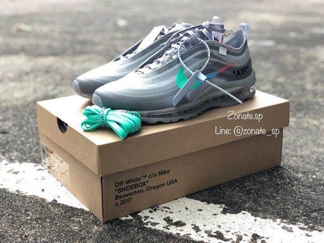 """การใช้งาน  ชุมพร Nike Airmax 97 X OFFWhite """"MENTA"""""""
