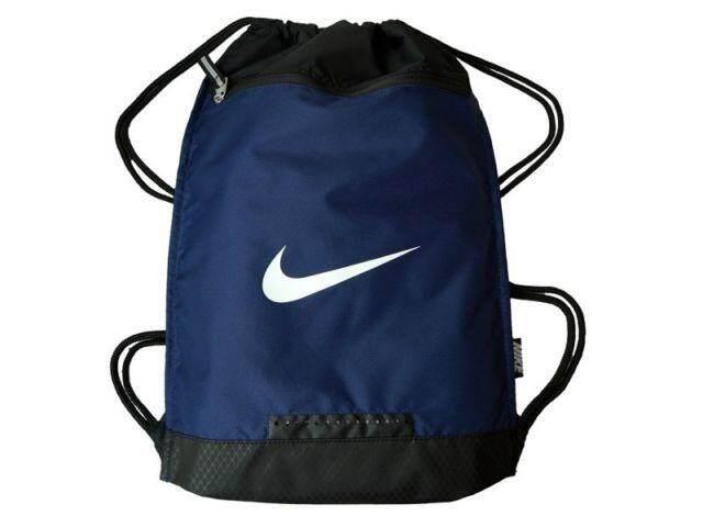 ขายดีมาก! NIKE กระเป๋าถุงผ้า ไนกี้  Sportswear Gym bag (Navy - เอนกประสงค์สไตล์มินิมอล) ++ของแท้100% พร้อมส่ง ส่งด่วน Kerry++