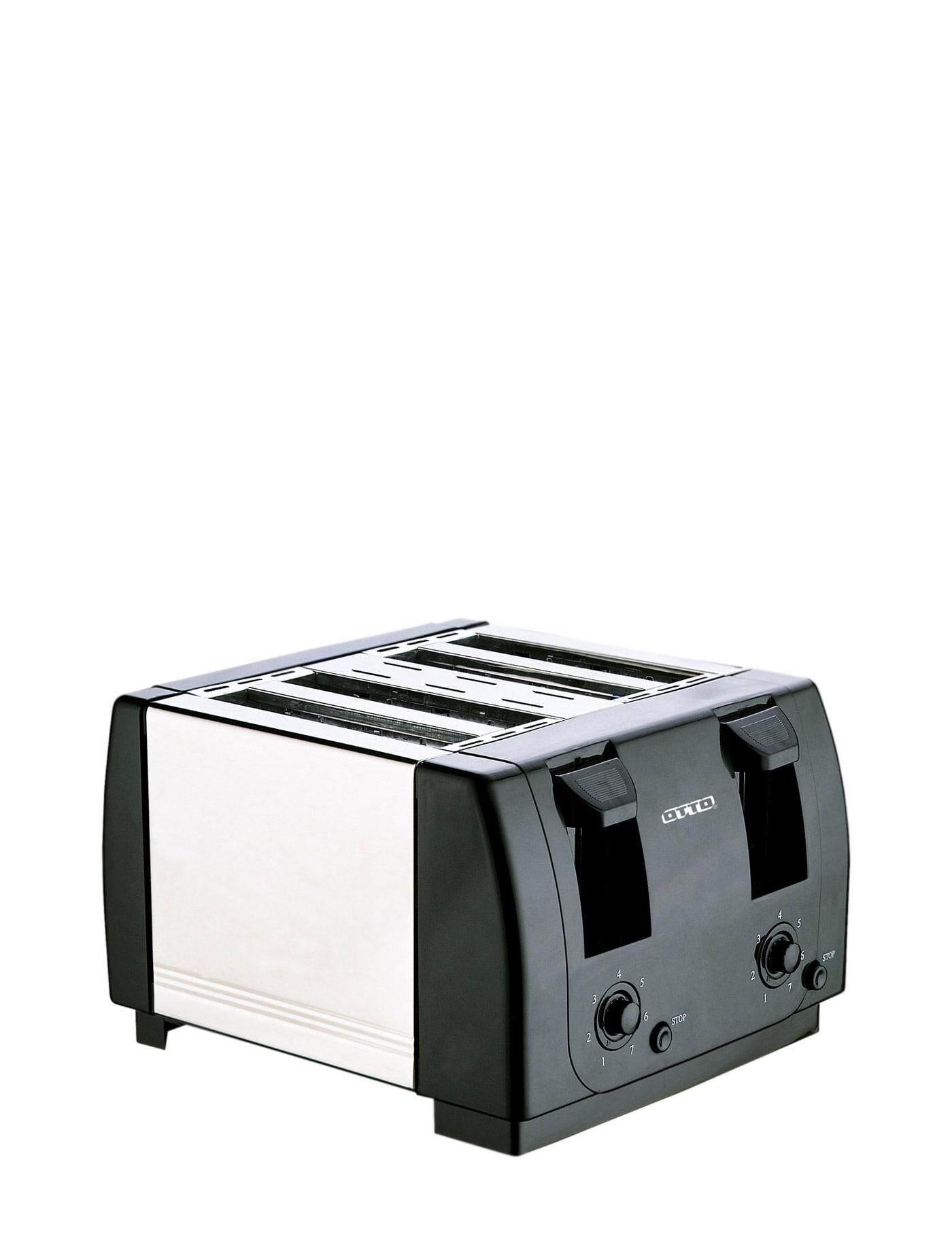 ยี่ห้อไหนดี  ตรัง OTTO เครื่องปิ้งขนมปัง สีดำ toasters makers