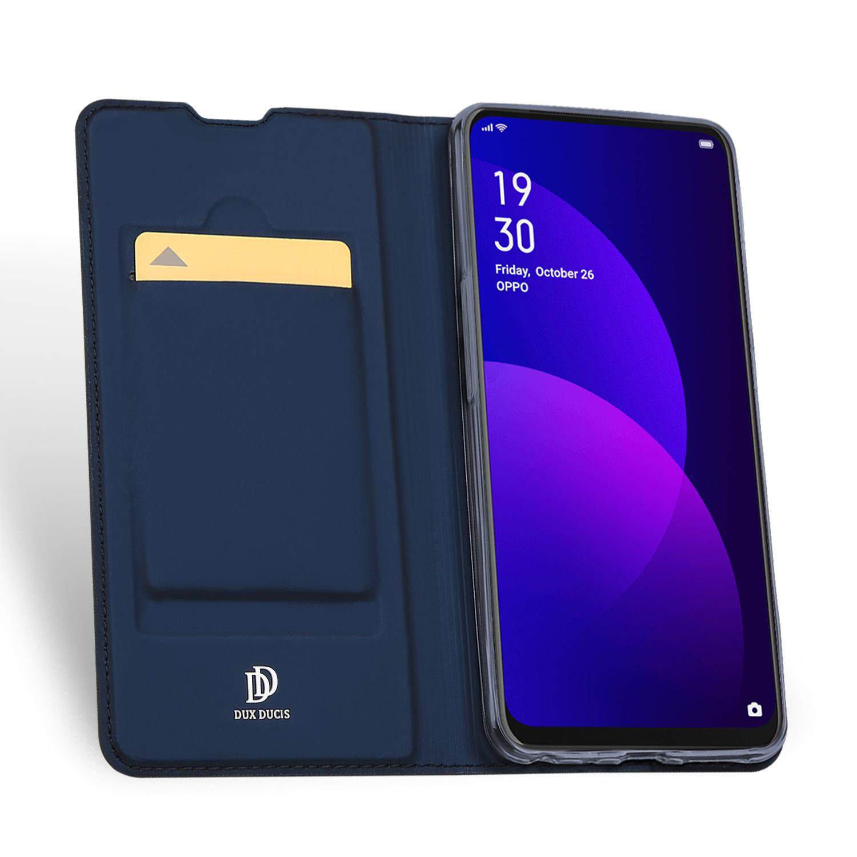ลดสุดๆ พจนานุกรม-DUX DUCIS สำหรับ OPPO F11 Pro สีทึบการดูดด้วยแม่เหล็กหนังป้องกันเคสโทรศัพท์การ์ดฉากยึดมีรู