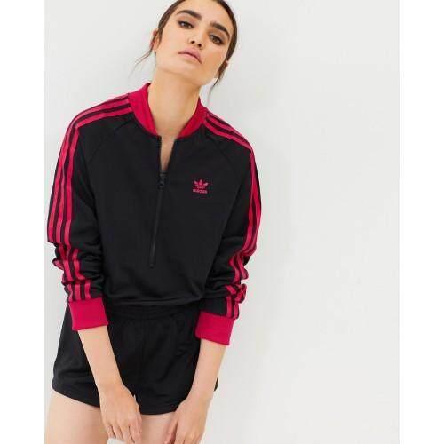สุดยอดสินค้า!! All Day Glam Adidas ชุด Jumpsuit ผู้หญิง อาดิดาส Black Pink Jumpsuit ของแท้ 100% ส่งไวด้วย kerry!!!