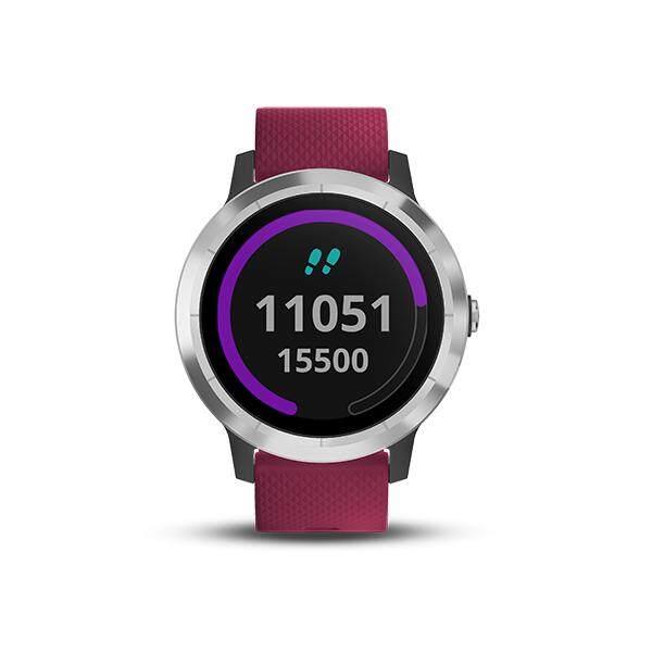 การใช้งาน  นครปฐม Garmin Vivoactive 3 Element Black&Cerise นาฬิกาออกกำลังกาย