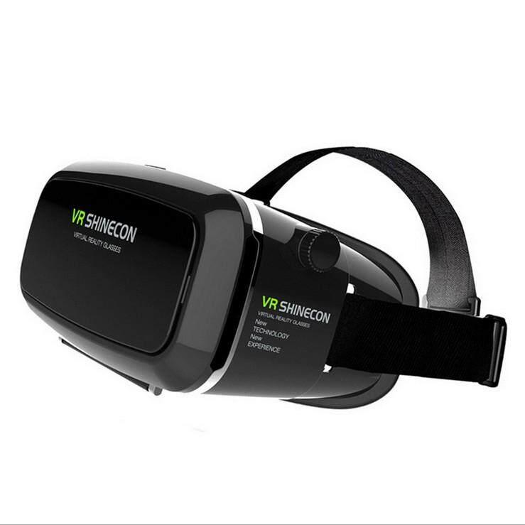 """สุดยอดสินค้า!! """"ส่งฟรี KERRY""""VR Shinecon แว่นตา 3 มิติเสมือนจริง Glasses 3D ดูหนัง หรือเกมส์ ผ่านมือถือแบบโลกเสมือนจริง(Black)"""