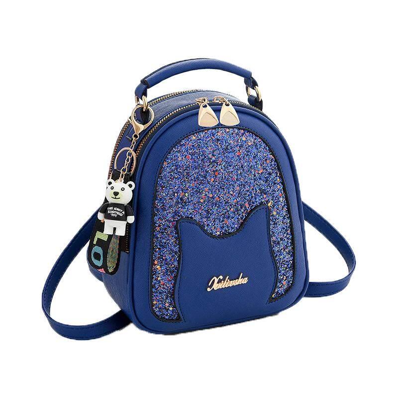 กระเป๋าสะพายพาดลำตัว นักเรียน ผู้หญิง วัยรุ่น ภูเก็ต Bag design กระเป่าเป้สะพายหลัง แฟชั่น ขนาดเล็ก ลายน่ารัก รุ่น 026 ใหม่