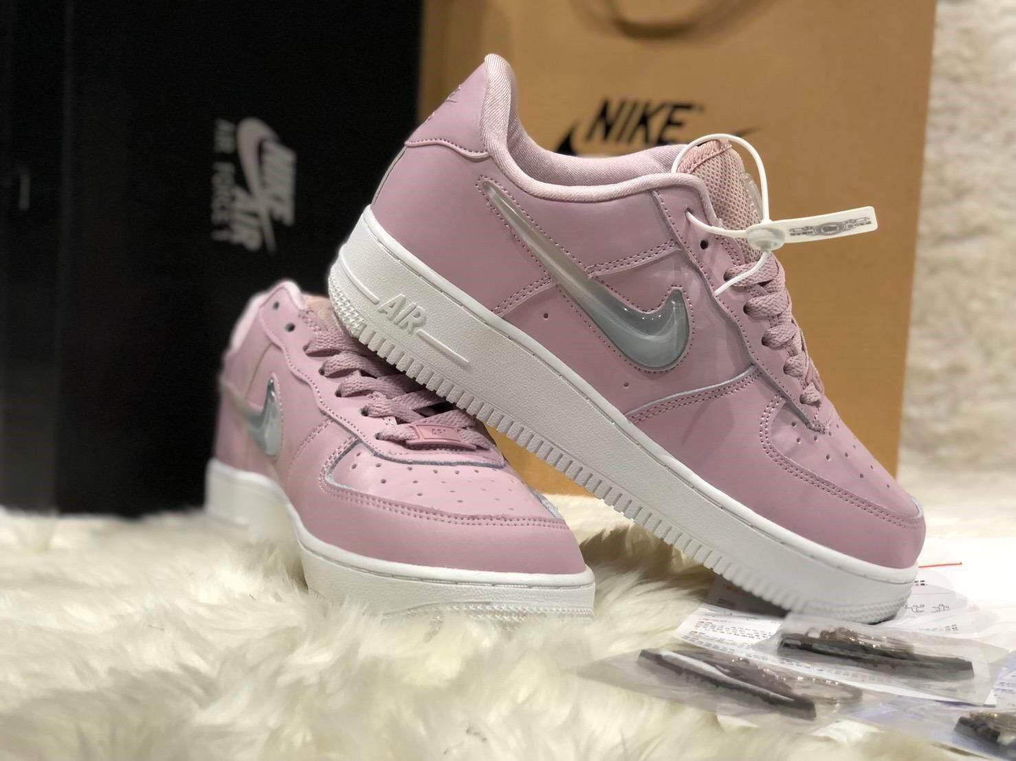 ยี่ห้อนี้ดีไหม  หนองบัวลำภู รองเท้้าผ้าใบNIKEยอดนิยมทันสมัยรองเท้าผู้หญิง สินค้าจริงตรงตามภาพที่แสดง