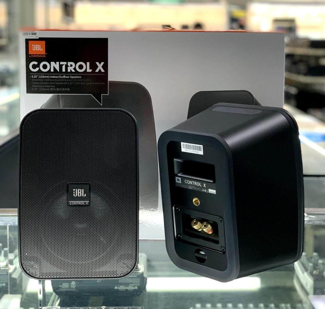ยี่ห้อนี้ดีไหม  สุรินทร์ JBL CONTROL-X ตู้ลำโพงแขวน5นิ้วสีดำ(ราคาต่อ1คู่ 2ใบ)(สินค้าของแท้รับประกันมหาจักร)