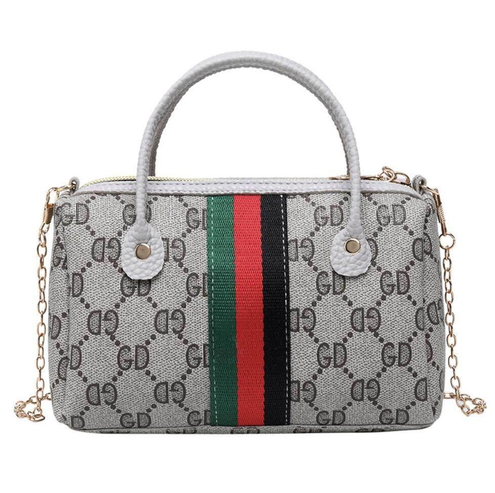 กระเป๋าถือ นักเรียน ผู้หญิง วัยรุ่น ปทุมธานี miss bag fashion  กระเป๋าสะพายข้าง mini bag guccixiaobao