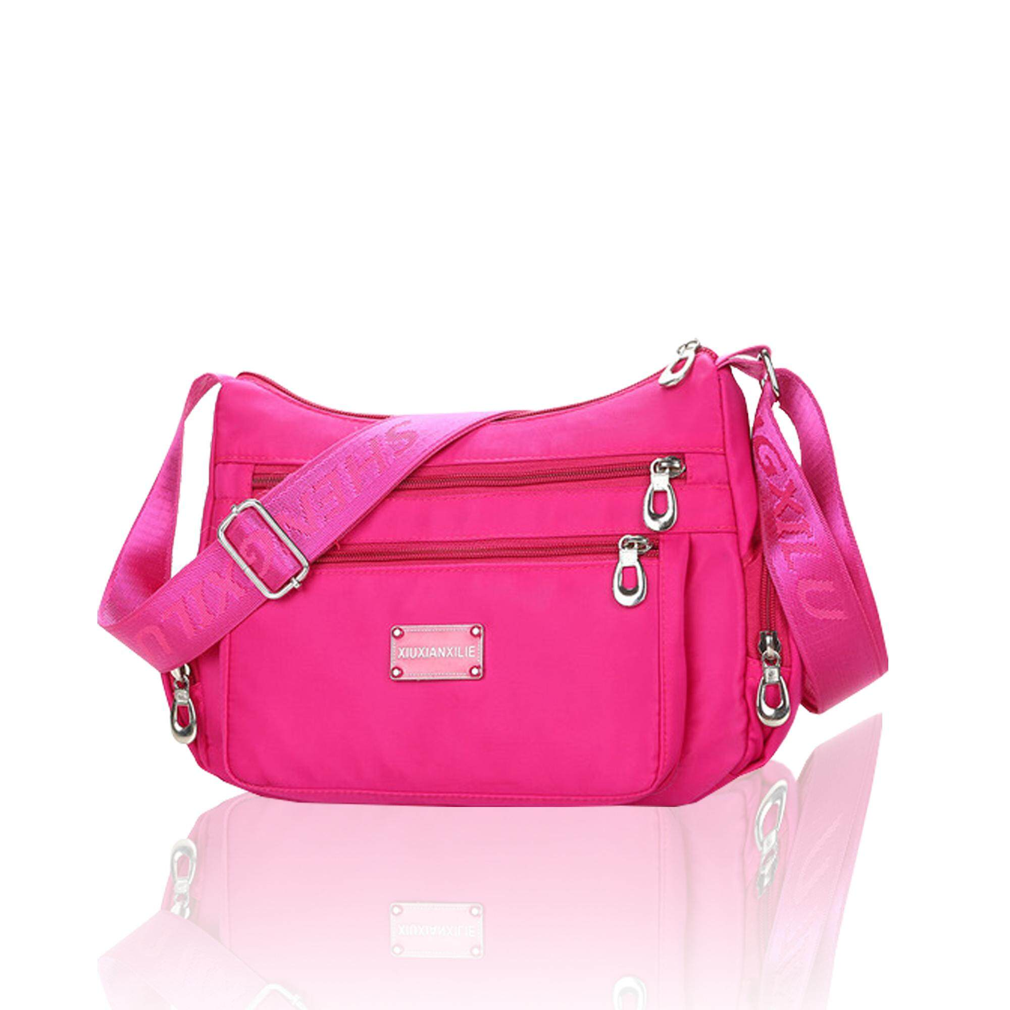 กระเป๋าสะพายพาดลำตัว นักเรียน ผู้หญิง วัยรุ่น นครพนม Buyplus  B 93  กระเป๋าสะพายข้าง XIUXIANXILIE