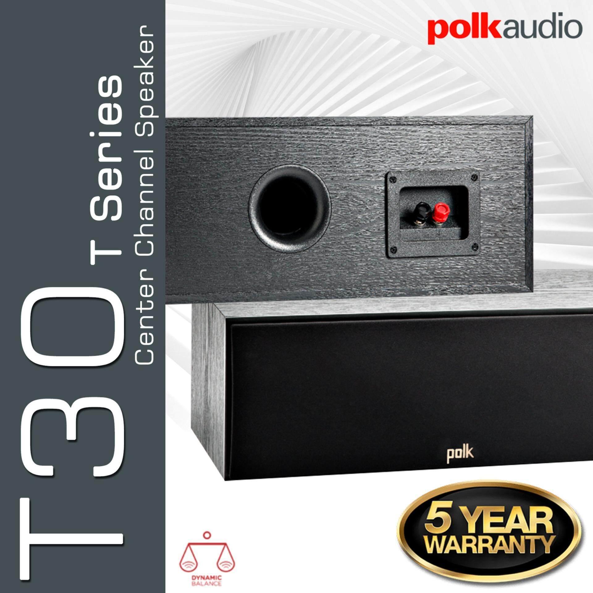 การใช้งาน  เชียงราย Polk Audio T30 - Center Channel Speaker รับประกัน 5ปี ศูนย์ POWER BUY จากผู้นำเข้าอย่างเป็นทางการ