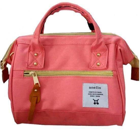 การใช้งาน  ชลบุรี Authentic Anello Japan Imported Canvas Unisex Small Sling Handbag