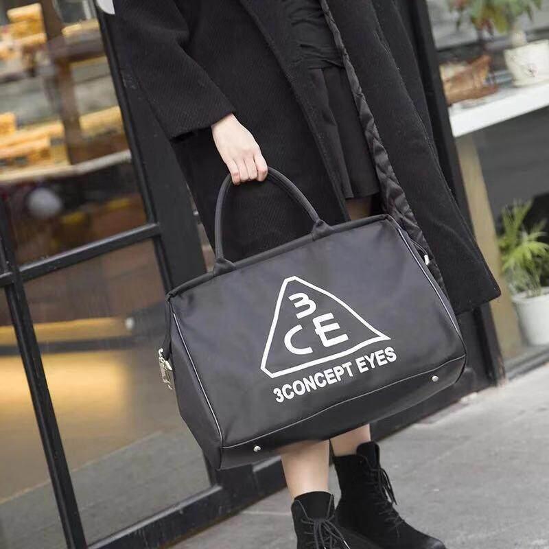 กระเป๋าสะพายพาดลำตัว นักเรียน ผู้หญิง วัยรุ่น เชียงใหม่ กระเป๋าสะพายใบใหญ่ Duffle bag กระเป๋าเดินทาง