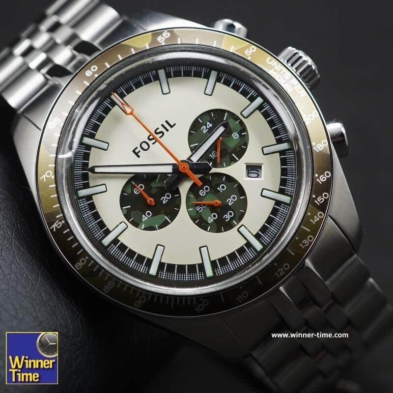 สอนใช้งาน  สงขลา Winner Time นาฬิกา ผู้ชาย Fossil CH2913 รับประกัน 1 ปี