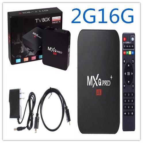 ทำบัตรเครดิตออนไลน์  นครศรีธรรมราช MXQ Pro Smart Box Android 7.12 Amlogic 4K Quad Core 64bit 2GB/16GB by Egreat (สีดำ)