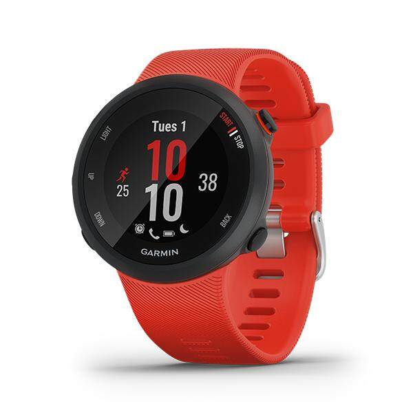 ยี่ห้อไหนดี  ภูเก็ต Garmin Forerunner 45 นาฬิกาวิ่งระบบ GPS ที่รองรับแผนการฝึก Garmin Coach :1Y