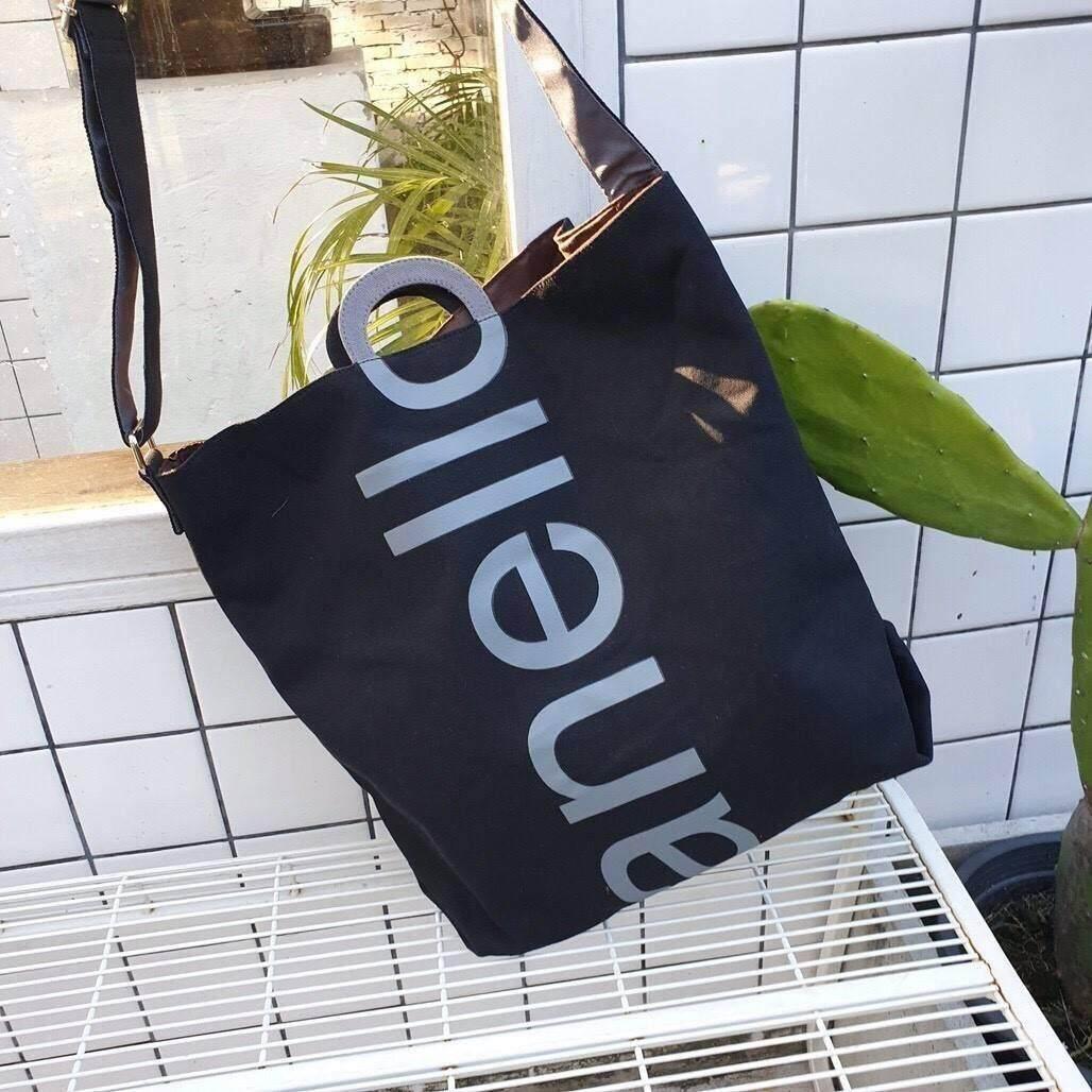 ยี่ห้อไหนดี  เชียงใหม่ กระเป๋าผ้าแคนวาส จากแบรนด์ Anello ปรับทรงได้สองทรง