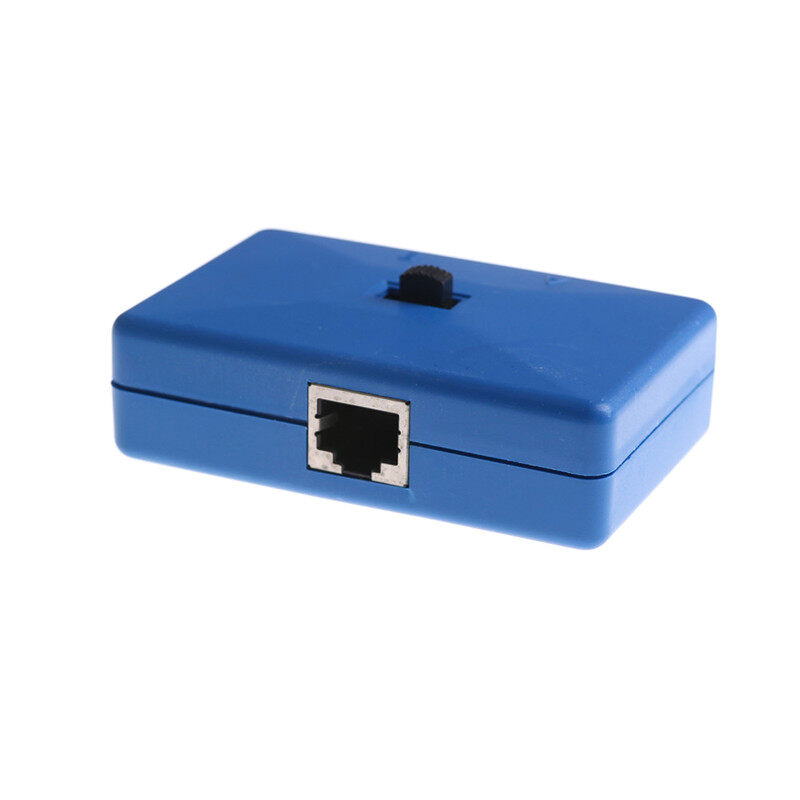 mini 2 Ports Rj45 Inner//External Network Switch Splitter Box Avoid Cable PlugSP