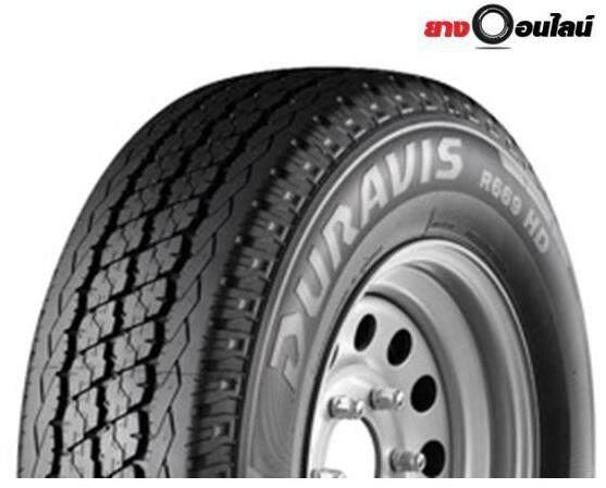 ประกันภัย รถยนต์ 2+ นราธิวาส Bridgestone บริสโตน R669 ยางรถยนต์ ขนาด 225/75R15 นิ้ว จำนวน 1 เส้น (แถมจุ๊บลมยาง 1 ตัว)
