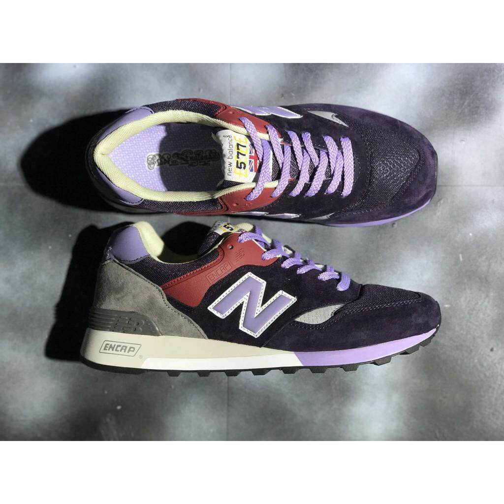 สมุทรสงคราม original_new_balance_577_nb577_purple_color_men_women_sport_running_shoe_36-44