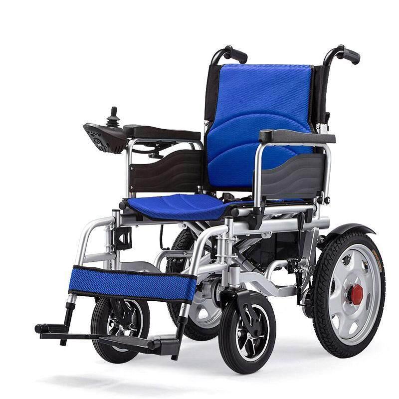 เก็บเงินปลายทางได้ เก้าอี้รถเข็นไฟฟ้า รุ่นอัพเกรด Wheelchair รถเข็นผู้ป่วย รถเข็นผู้สูงอายุ มือคอนโทรลได้ มีเบรคมือ ล้อหนา แข็งเเรง ปลอดภัย รับนน.ได้มาก Super Marie
