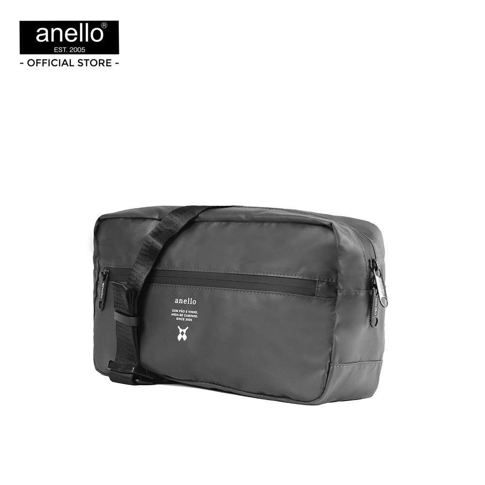 ประจวบคีรีขันธ์ กระเป๋าสะพายข้าง anello REG W-Proof Crossbody Bag_OS-N021