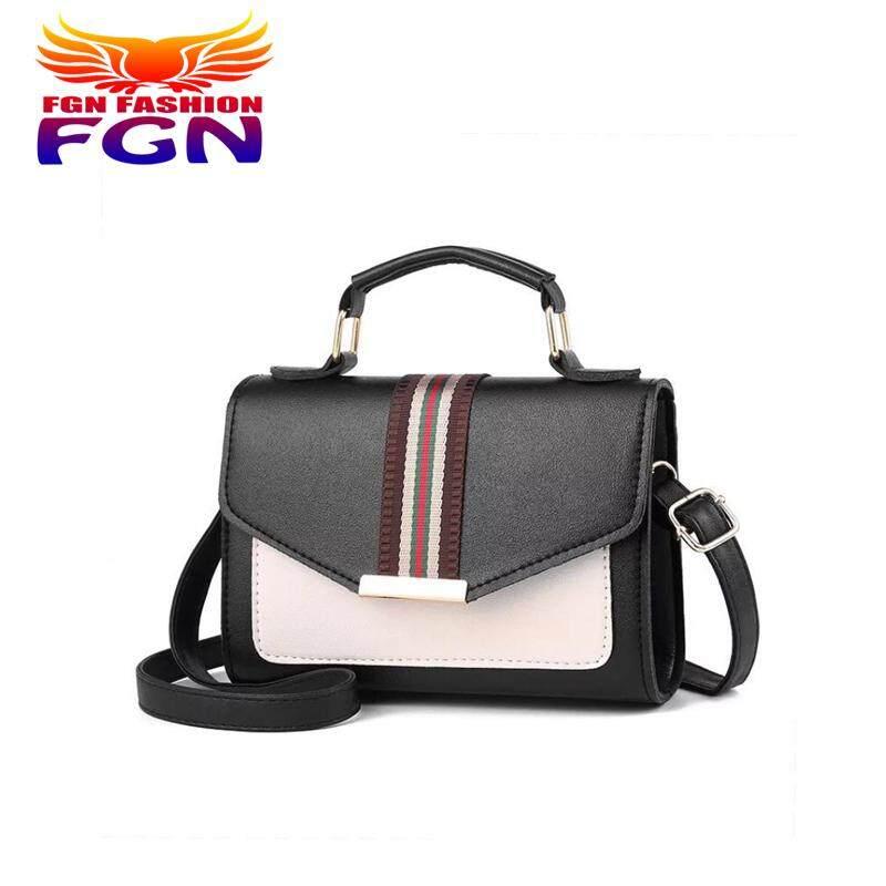กระเป๋าสะพายพาดลำตัว นักเรียน ผู้หญิง วัยรุ่น ฉะเชิงเทรา FGN กระเป๋าสะพายข้าง กระเป๋าเป้ผ้าไนลอน รุ่น:FGN 072  มีสีให้เลือก5สี