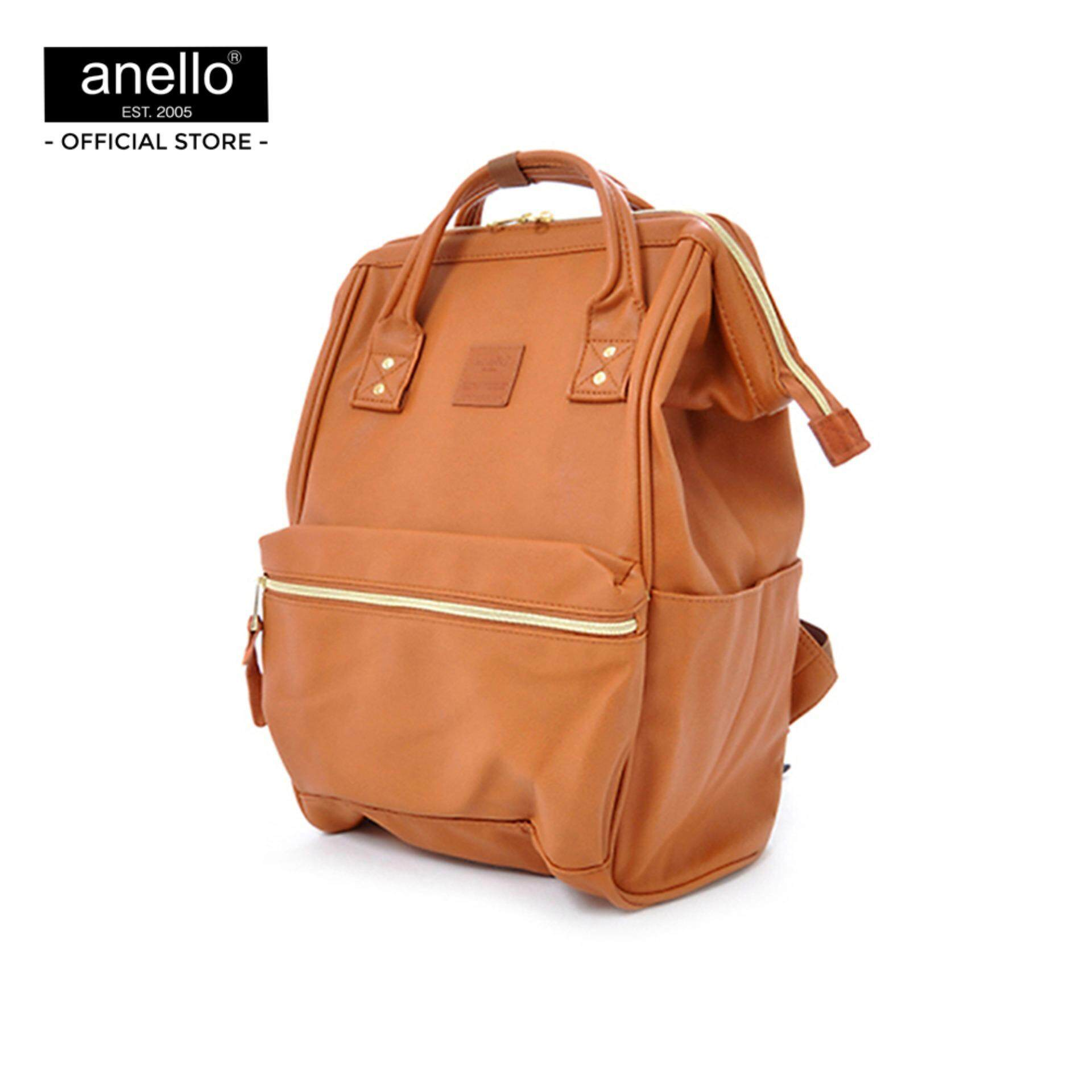 ยี่ห้อนี้ดีไหม  เลย anello กระเป๋า Regular PU Backpack_AT-B1211