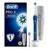แปรงสีฟันไฟฟ้าเพื่อรอยยิ้มขาวสดใส ชัยภูมิ แปรงสีฟันไฟฟ้า Oral B Pro 3 3000 CrossAction Electric Toothbrush Rechargeable