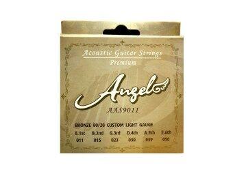 ANGEL สายกีต้าร์โปร่ง รุ่น AAS-9011 ชุด (สาย1-6) No.11-50
