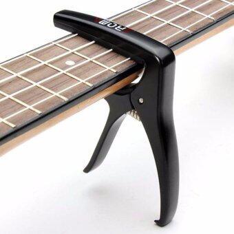 Aroma คาโป้กีตาร์ แบบหนีบ รุ่น AC-21BK สีดำ (Capo Guitar, คาโป้กีตาร์โปร่ง) - 4