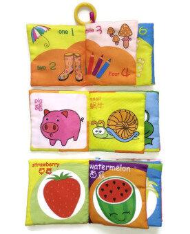 หนังสือผ้าอังกฤษ-จีนสองภาษาสำหรับเด็กเล็ก รุ่น B1-3 ชุดที่ 1 (3เล่ม) - 3