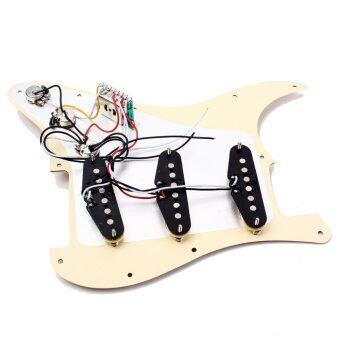BolehDeals Prewired คลาสสิกของ sss Alnico วีจีบ Pickguardโหลดสำหรับ Fender เซนต์กีต้าร์ (image 3)