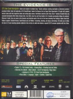 Boomerang CSI: Vegas Season 13 ไขคดีปริศนาเวกัส ปี 13 (DVD Box Set6 Disc) (image 1)
